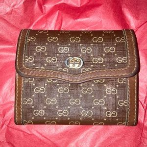 Gucci Double G small wallet/coin purse!